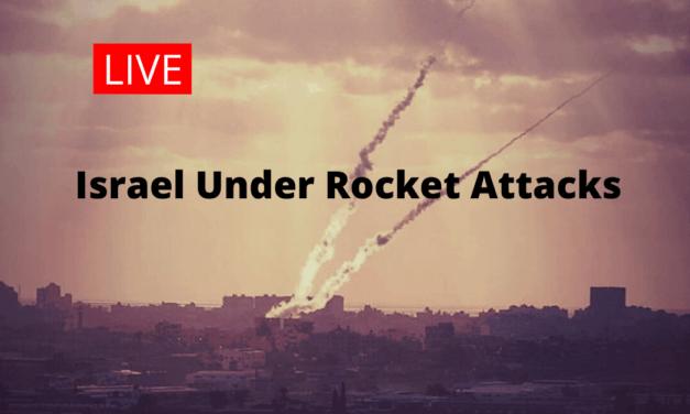 Live Blog: Israel Under Rocket Attack by Islamic Jihadist in Gaza
