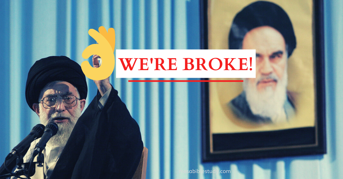 Iran's Mullah's are Broke Bums Thanks to President 'Donald Trump'