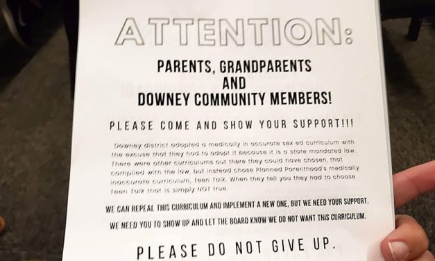 MassResistance parents in Downey, CA, organize city-wide to stop graphic LGBT sex-ed curriculum passed by School Board