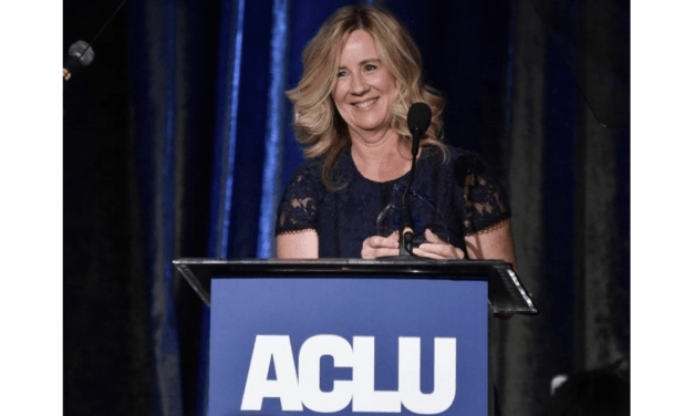 """ACLU Gives Christine Ford Its """"Courage"""" Award for Making False Claims About Brett Kavanaugh"""
