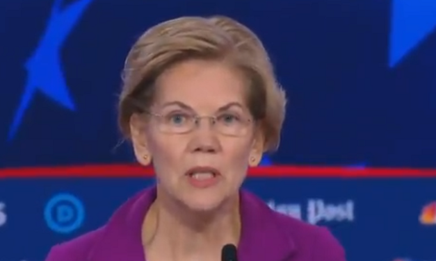 """Elizabeth Warren Calls Killing Babies in Abortions Up to Birth a """"Human Right"""""""
