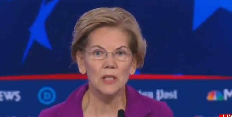 "Elizabeth Warren Calls Killing Babies in Abortions Up to Birth a ""Human Right"""