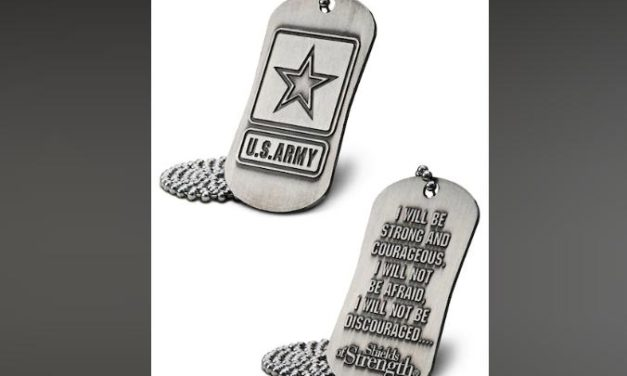 Army Trademark Office Asks Christian Company to Stop Putting Scripture on Army-Themed Dog Tags Following Complaint